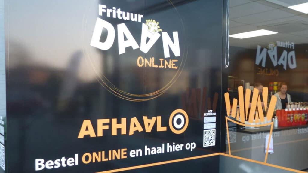 Commander en ligne chez frituur Daan